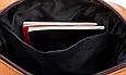 Мужская сумка через плечо из натуральной кожи Marrant - коричневый, фото 4