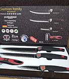 Набір ножів 6 предметів German Family GF-05, фото 2