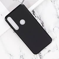 Чехол Fiji Line для Motorola Moto G8 Plus (XT2019) силикон бампер черный