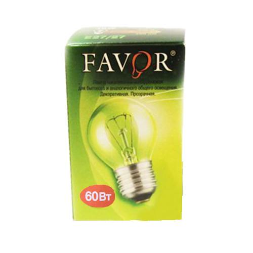 Лампа накаливания 60 Ватт Е27 Шар