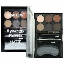 Набор для коррекции бровей Scanlon Eyebrow Palette Matte