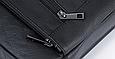 Мужская сумка через плечо из натуральной кожи  Marrant - черный, фото 3