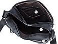 Мужская сумка через плечо из натуральной кожи  Marrant - черный, фото 8
