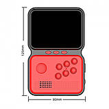 Игровая консоль приставка GAME BOX на 900 игр dendy 16bit портативная ретро красная, фото 4