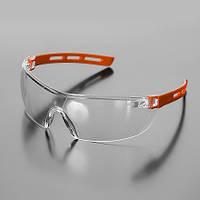 Очки защитные ASPECT прозрачные с дужками