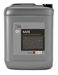 Smart Open Safe 01 - первичный бесконтактный состав для очистки поверхностей с защитой хрома и алюминия 22 кг