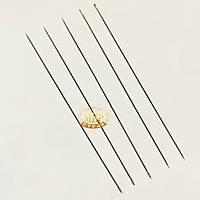 Игла бисерная длина 10 см (0.05мм), 1 шт