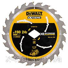 Диск пильный XR Flexvolt Extreme c ромбовидной посадкой DeWALT DT40270