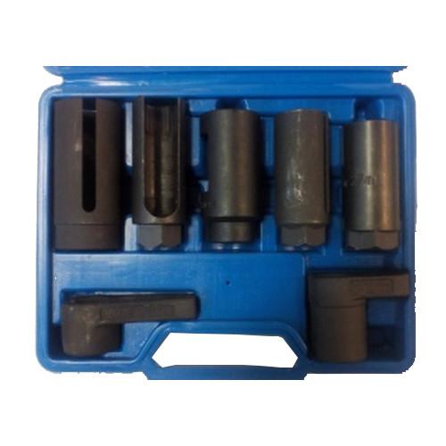 Набор головок для кислородных датчиков (лямбда-зонда) 7 предметов Best 1-E1017