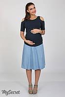 Юбка-шестиклинка для беременных S(юм), фото 1