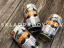 Маслины Coopoliva черные с косточкой 370мл