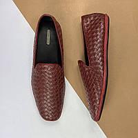Мужские кожаные слиперы Bottega Veneta (Боттега Венета) арт. 41-10