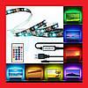 Светодиодная лента 5V 5050 RGB 2м USB