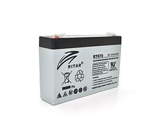 Аккумуляторная батарея AGM RITAR RT670 6V 7Ah