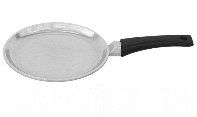 Сковорода блинная алюминиевая Биол «Блеск» 20см 2008В