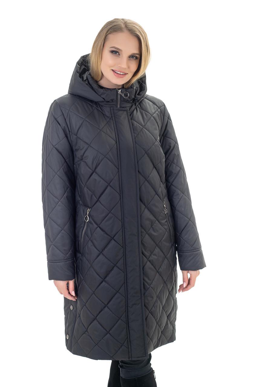 Женская чёрная куртка
