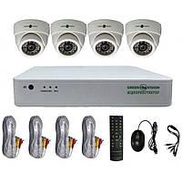 Комплект відеоспостереження GreenVision GV-K-G01/04 720 (4956)