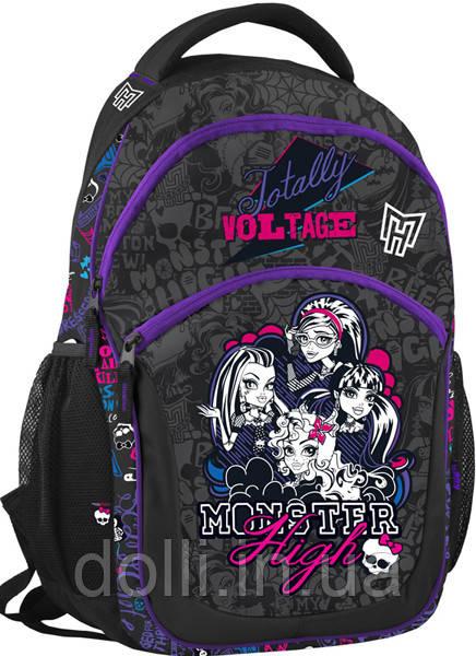 08f723739149 Рюкзак школьный Monster High MH14-815-2K Kite монстер хай для девочек, фото