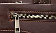 Мужская кожаная сумка портфель для документов Marrant - черный, фото 6