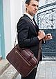 Мужская кожаная сумка портфель для документов Marrant - черный, фото 7