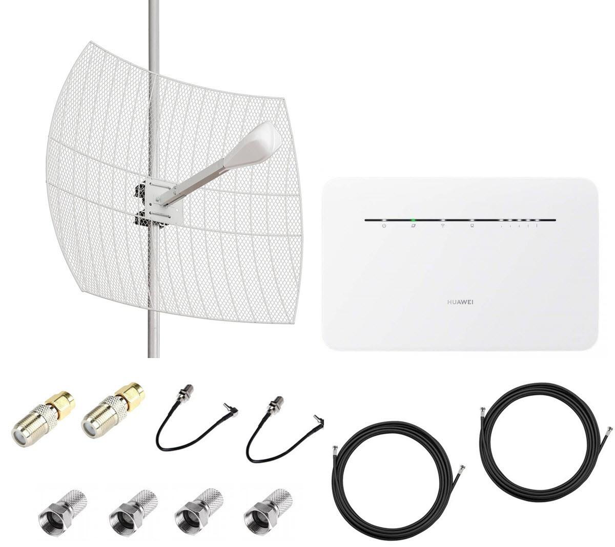 4G LTE MIMO комплект параболик Kroks в частный сектор