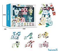 Трансформер алфавит игрушка D 622 - H 091 пособие для обучения алфавита со световыми и звуковыми эффектами
