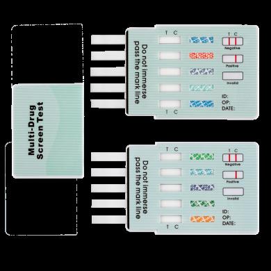 Тест на 12 видів наркотиків - амф., мар., морф., мет., барб.,бенз., кокаїн, тармадол,метадон, МДМА,спайс,кетам