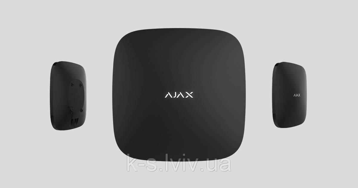 Інтелектуальна централь Ajax Hub black