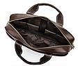 Мужская кожаная сумка портфель для документов Marrant - коричневый, фото 6