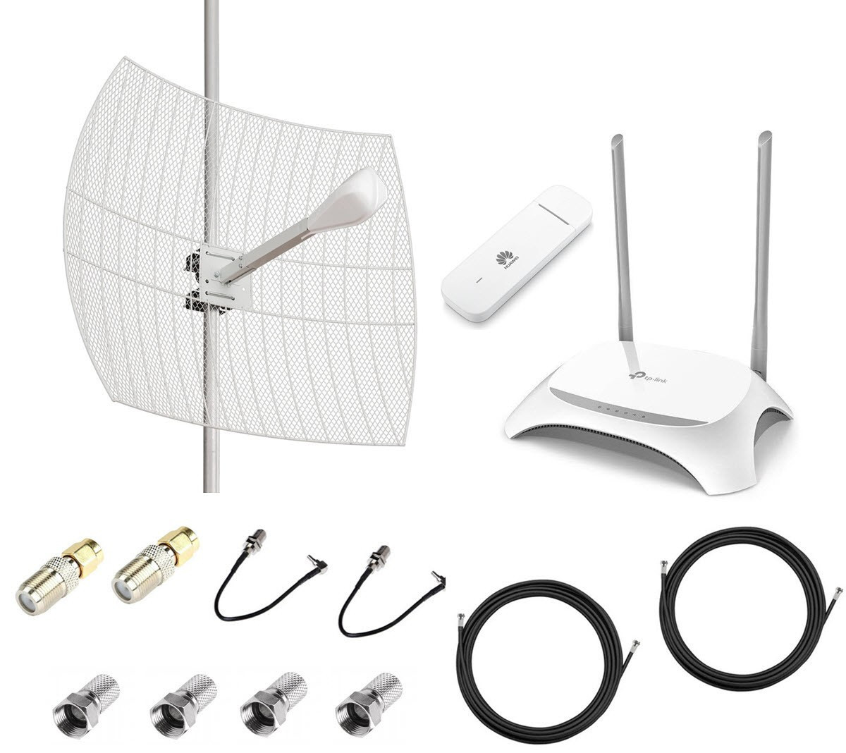 4G интернет комплект параболик Kroks для дома
