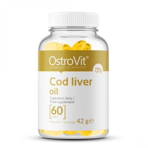 Жирные кислоты OstroVit Cod Liver oil (60 капс)