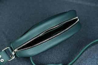 Сумка женская. Кожаная сумочка Виола, Кожа Grand, цвет Зеленый, фото 3
