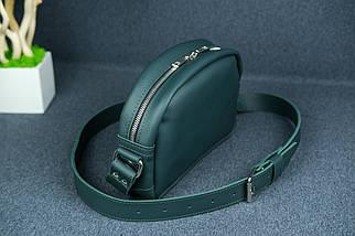 Сумка жіноча. Шкіряна сумочка Віола, Шкіра Grand, колір Зелений, фото 2