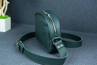 Сумка жіноча. Шкіряна сумочка Віола, Шкіра Grand, колір Зелений, фото 3