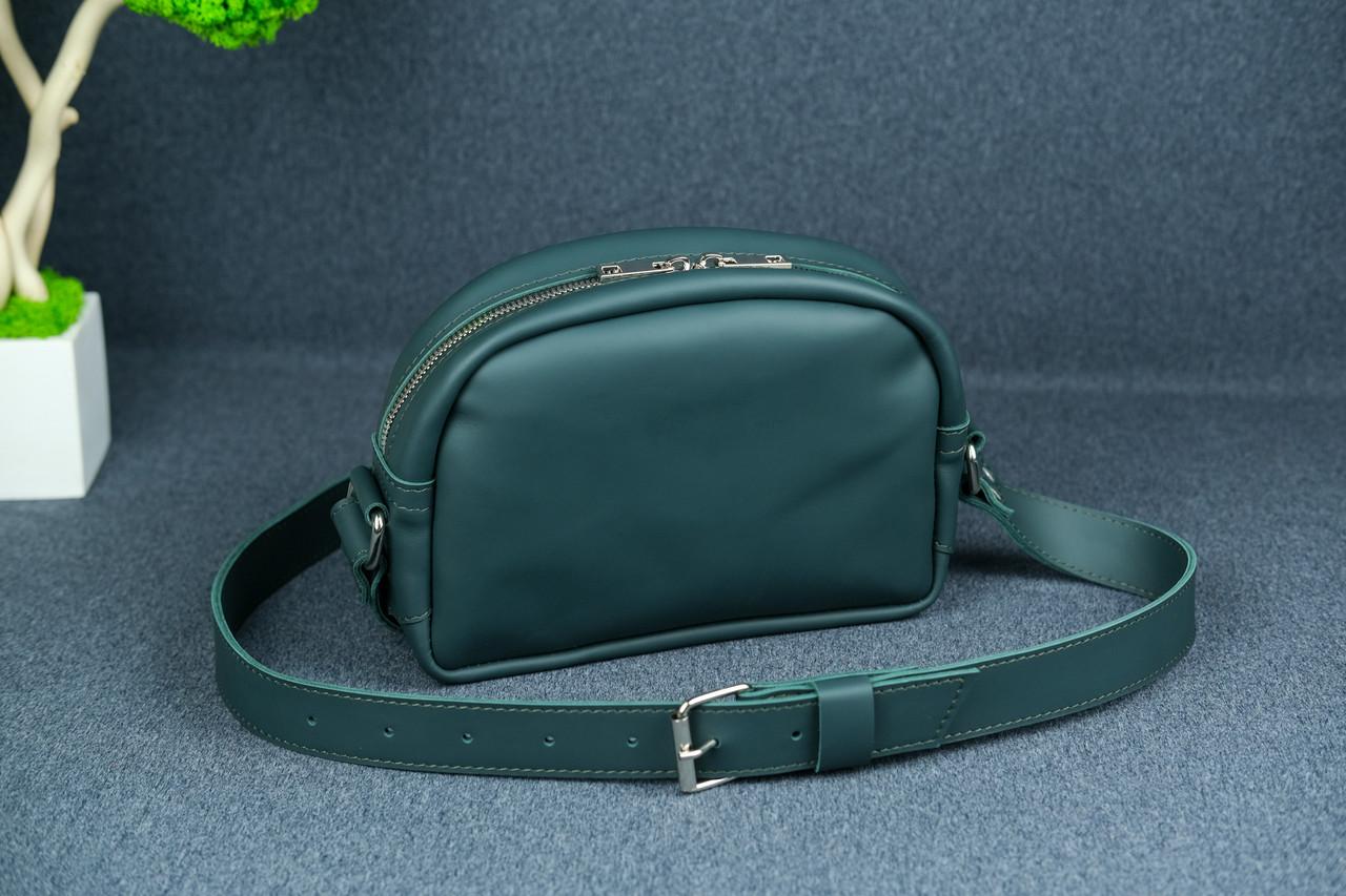 Сумка жіноча. Шкіряна сумочка Віола, Шкіра Grand, колір Зелений