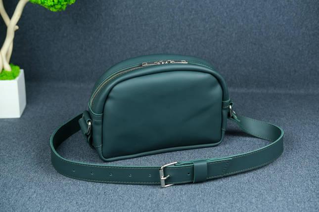 Сумка женская. Кожаная сумочка Виола, Кожа Grand, цвет Зеленый, фото 2
