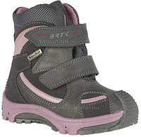 Зимние ботинки  для девочки Bartek Бартек модель 314080-0GX р.р 24,26
