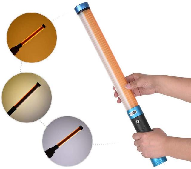 Портативная светодиодная палка использование