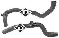 Патрубки (2шт) теплообменник - отопление на Рено Трафик 01-> 1.9dCi — Metalcaucho (Испания) - MC9254