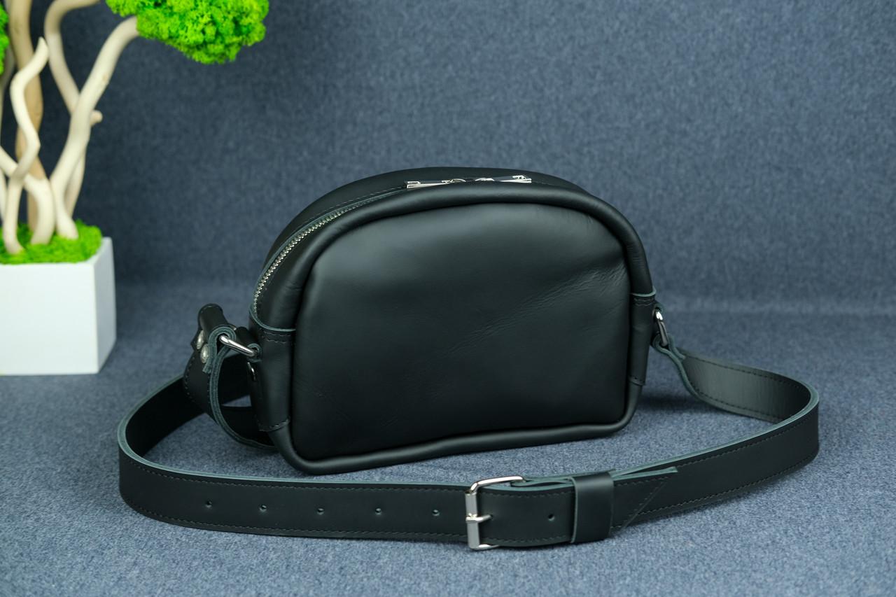 Сумка жіноча. Шкіряна сумочка Віола, Шкіра Grand, колір Чорний