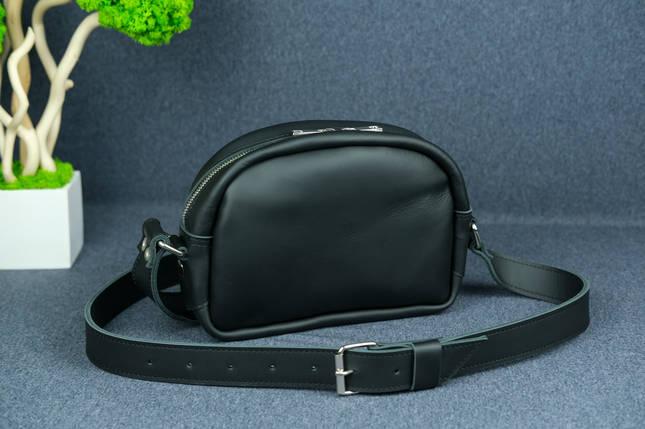 Сумка жіноча. Шкіряна сумочка Віола, Шкіра Grand, колір Чорний, фото 2
