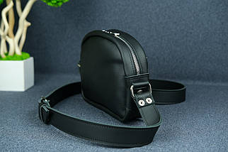 Сумка жіноча. Шкіряна сумочка Віола, Шкіра Grand, колір Чорний, фото 3