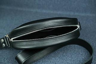 Сумка женская. Кожаная сумочка Виола, Кожа с лицевым покрытием, цвет Черный, фото 3