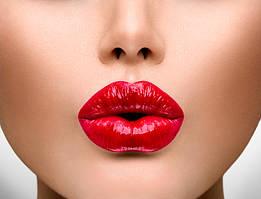 Макияж губ и уход разных брендов