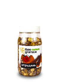 Гранола Штрудель без сахара Bee Granola, 250 г