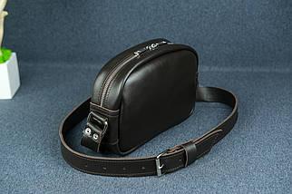 Сумка жіноча. Шкіряна сумочка Віола, Шкіра з лицьовим покриттям, колір Коричневий, фото 2