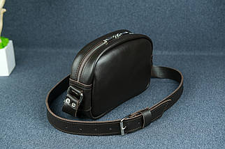 Жіноча шкіряна сумка Віола, натуральна шкіра з лицьовим покриттям, колір Коричневий, фото 3