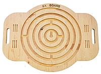 Детский балансборд Ex-board Лабиринт дерево балансировочные платформы доски балансир