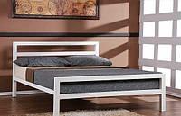 Кровать двухспальная в стиле Лофт, ЛЛ1, фото 1