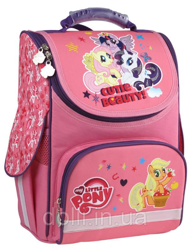 8ca8dbf55132 KITE Ранец школьный каркасный ортопедический Kite Little Pony LP15-501-3S,  фото 1